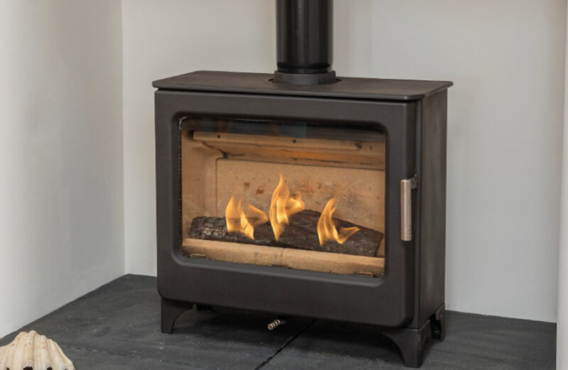 Ashcott Wide Catalyst Woodburning stove
