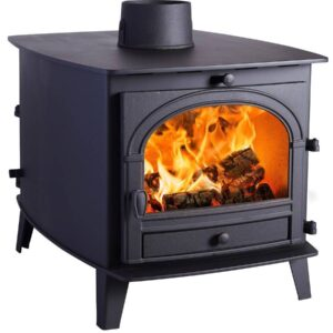 parkray consort 7 double sided double depth wood burning stove