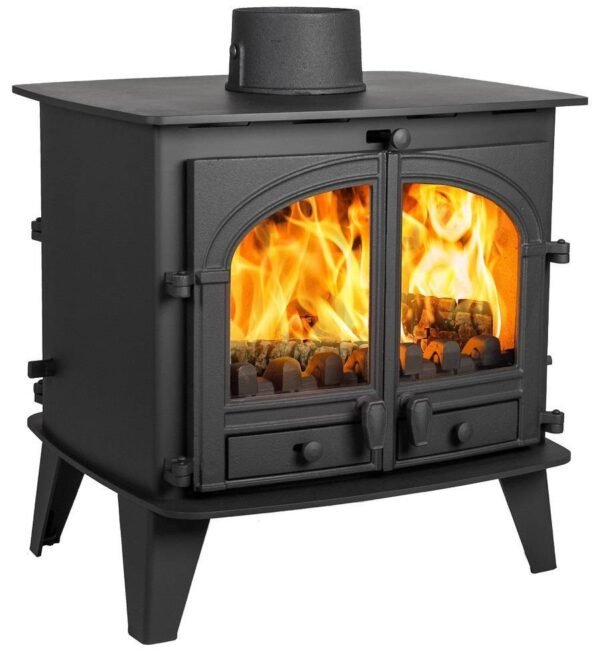 Parkray Consort 9 double sided single depth multi fuel stove