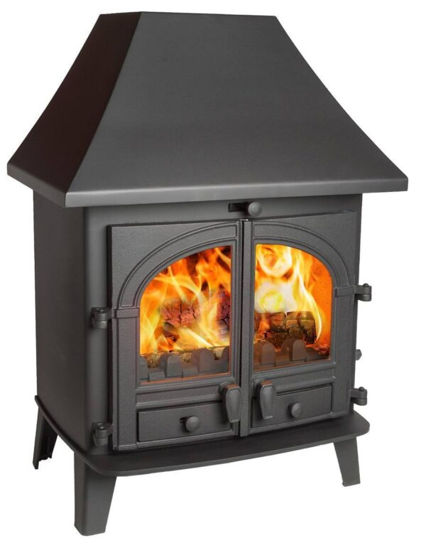 Parkray Consort 9 Wood burning Only Boiler Stove With Wrap Around Boiler
