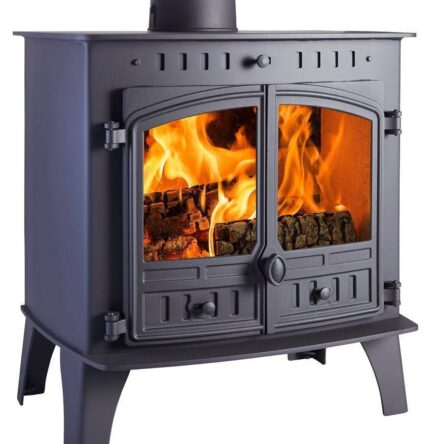 Hunter Herald 80B Multi Fuel Wood Burning Stove