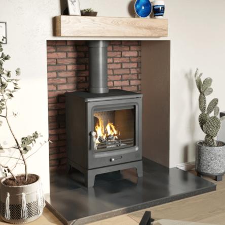 F2 Vue Portrait Wood burning / Multi fuel Stove